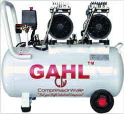2 HP Oil-Free Reciprocating Piston Type Air Compressor