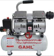 0.75 HP Oil-Free Reciprocating Piston Type Air Compressor