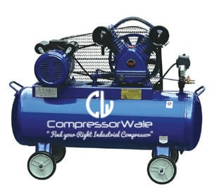 1.5 HP Cast Iron Block Single Stage Reciprocating Piston Air Compressor