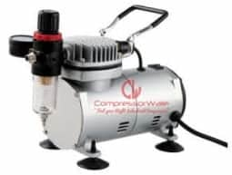 0.2 HP Mini Oil-Free Reciprocating Piston Type Air Compressor