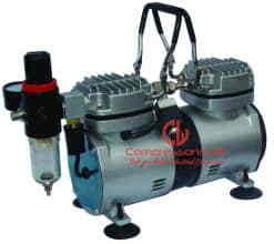 0.33 HP Mini Oil-Free Reciprocating Piston Type Air Compressor