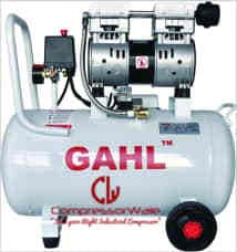 1.5 HP Oil-Free Reciprocating Piston Type Air Compressor