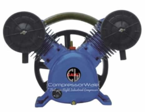5.5 HP Cast Iron Block Two Stage Reciprocating Piston Bare Air Compressor Pump Head Set – Only Compressor Block