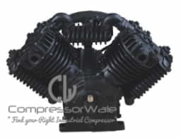 10 HP Cast Iron Block Two Stage Reciprocating Piston Bare Air Compressor Pump Head Set – Only Compressor Block