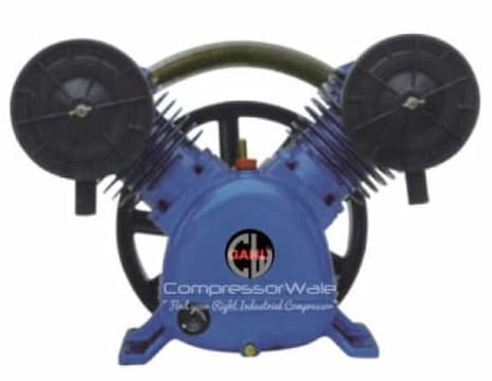 5.5 HP Cast Iron Block Single Stage Reciprocating Piston Bare Air Compressor Pump Head Set – Only Compressor Block