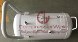 50 Liter Horizontal Air Receiver Tank to Store Compressed Air