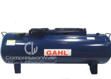 50 Liter Horizontal Air Receiver Tank to Store Compressed Air for Belt Driven Air Compressor