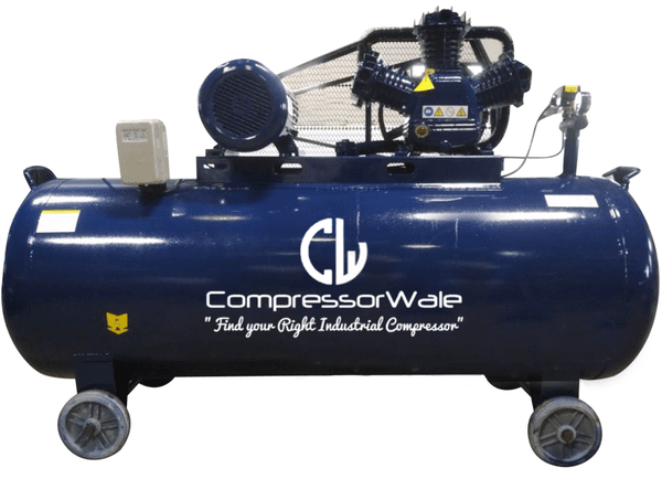 4 HP Cast Iron Block Single Stage Reciprocating Piston Air Compressor