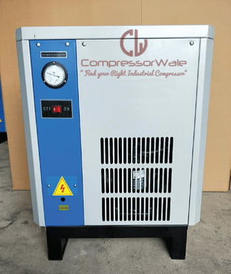 91 CFM Refrigerated Air Dryer to Remove Moisture from Compressed Air
